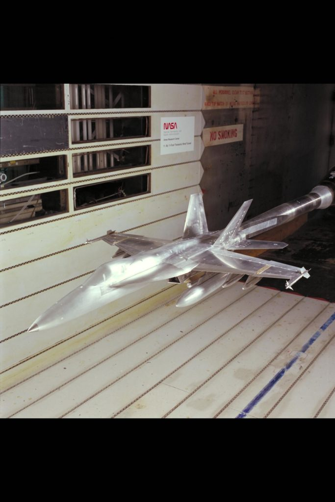F/A-18 E/F Model: 11ft. W.T. Test #207-1-11 (February and March) ARC-1994-AC94-0134-9