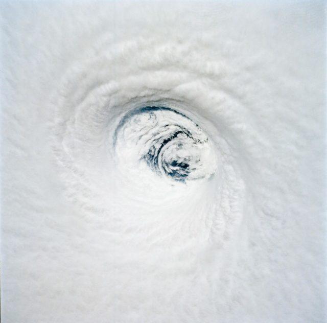 STS-65 Earth observation of Hurricane Emilia taken aboard Columbia, OV-102