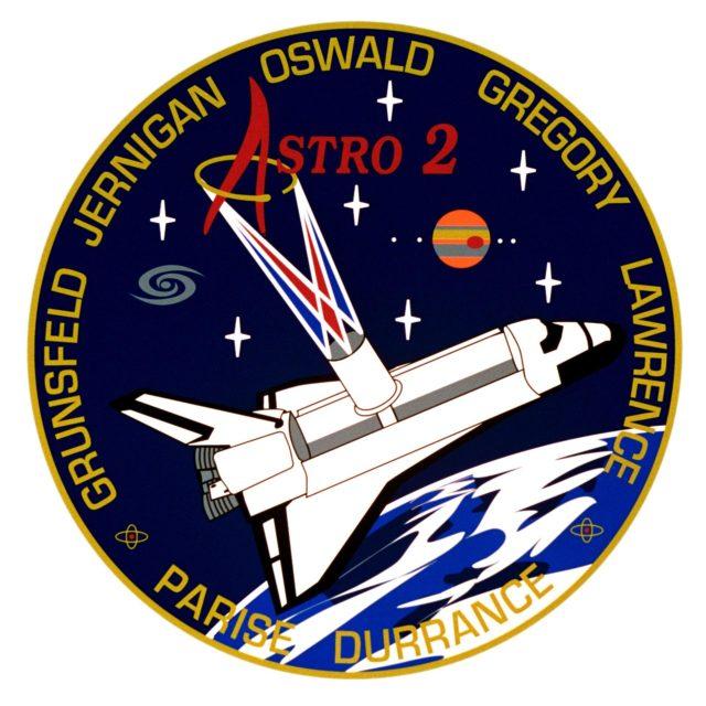 STS-67 crew insignia