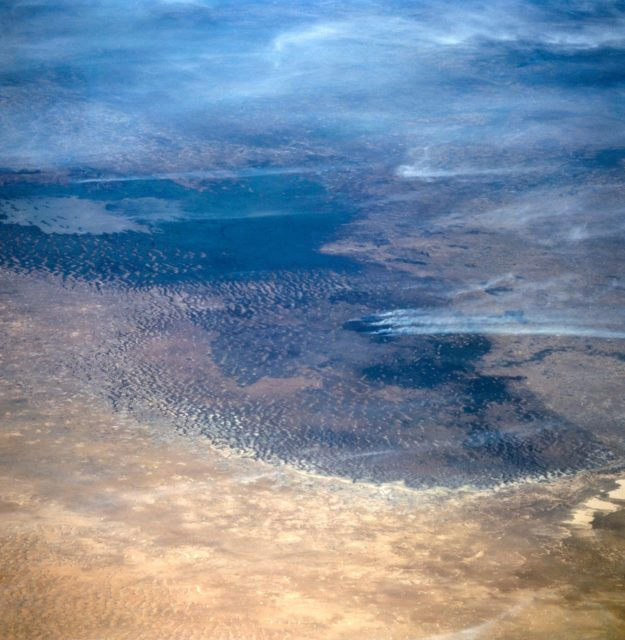 Lake Chad, Chad as seen from STS-66