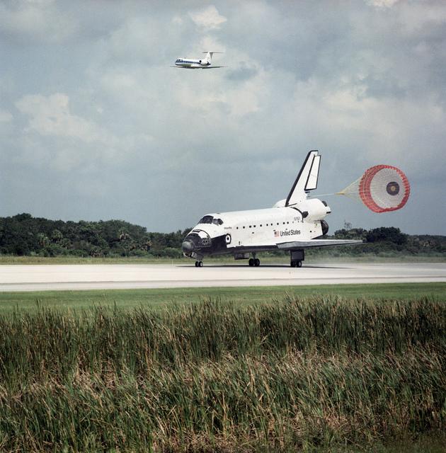 STS-71 Landing