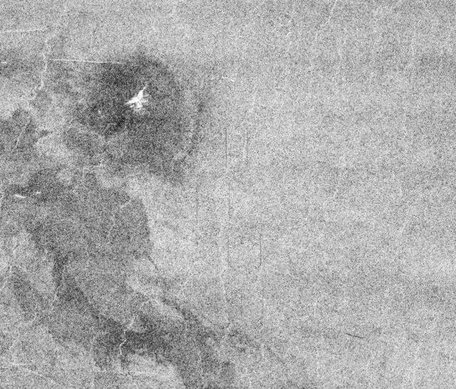 Venus - Possible Remnants of a Meteoroid in Lakshmi Region
