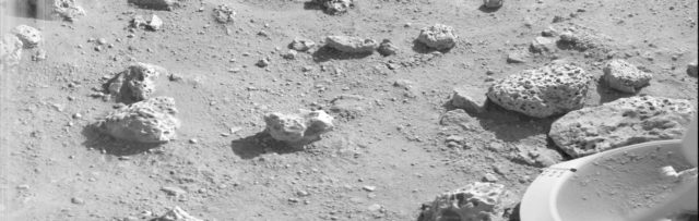 Viking Lander 2 First Picture On The Surface Of Mars