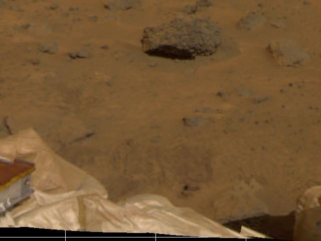 Lander, Airbags, & Martian Terrain