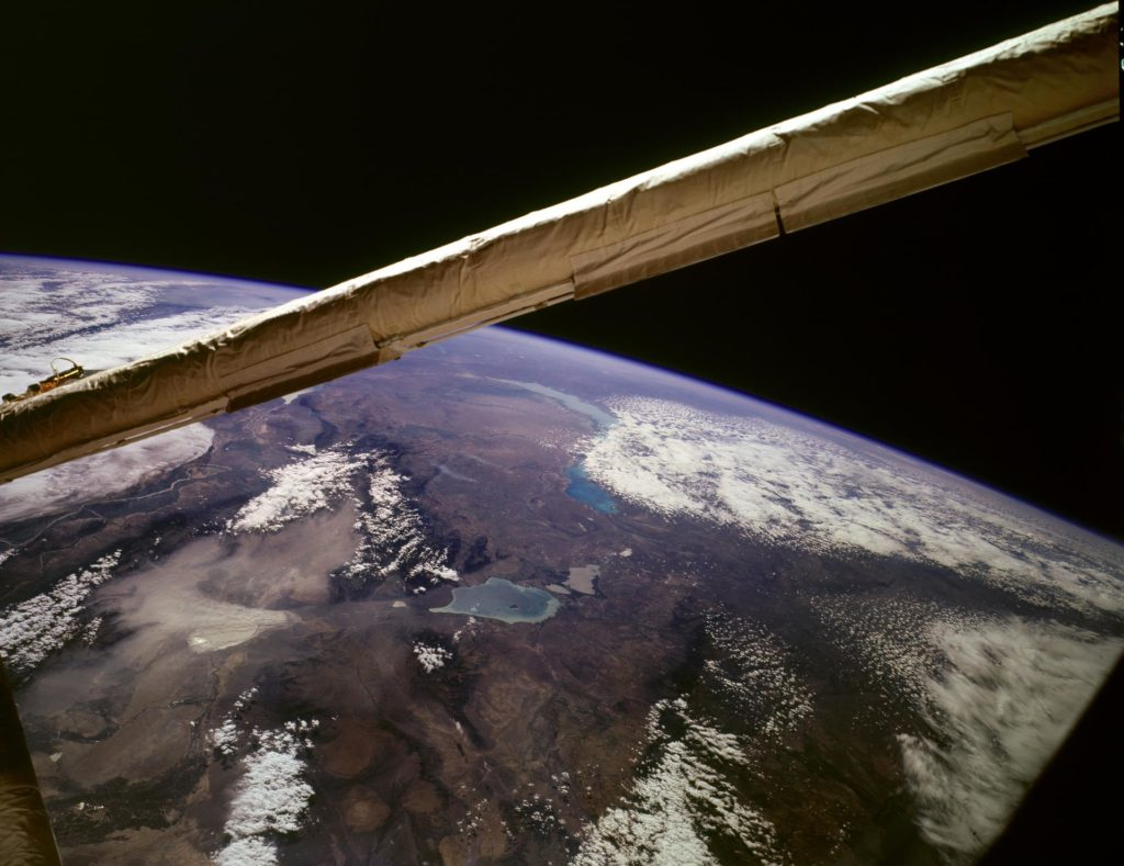 Earth observations taken from shuttle Discovery during STS-85 mission