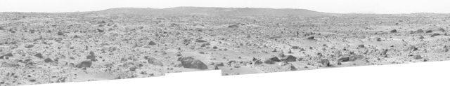 Big Crater as Viewed by Pathfinder Lander