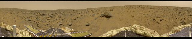 360 Degree Panorama Mars Pathfinder Landing Site