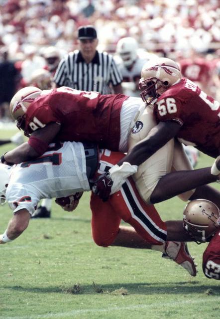 Florida State University versus the University of Miami at Doak Campbell Stadium: Tallahassee, Florida