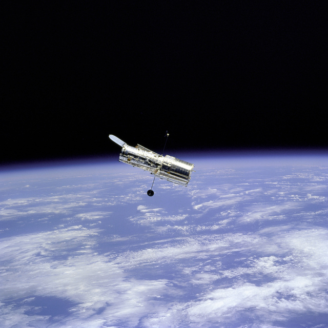 Hubble Space Telescope and Earth Limb