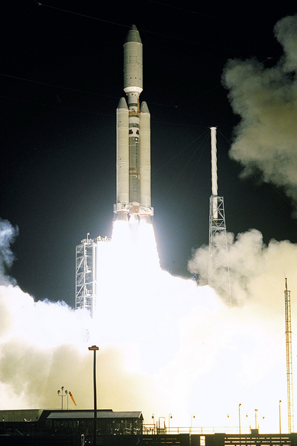 Launch of Cassini Orbiter & Huygens Probe