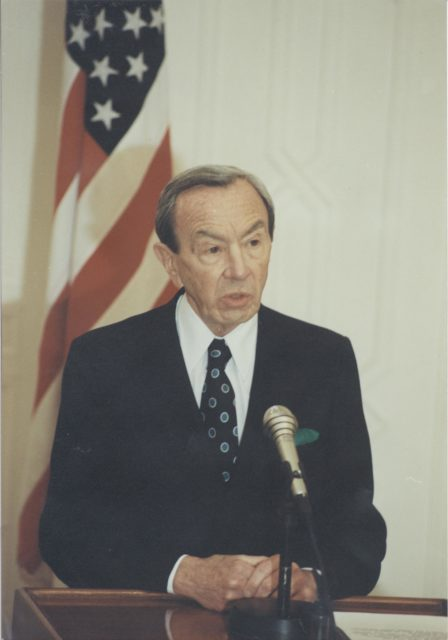 Warren M. Christopher, U.S. Secretary of State