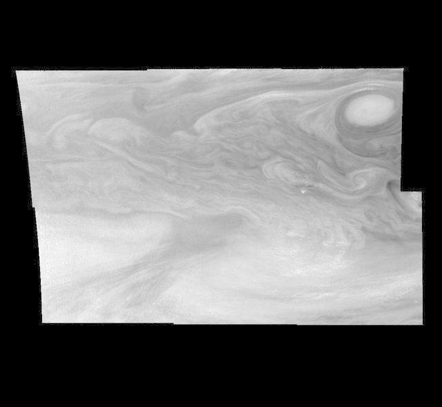 Jupiter Equatorial Region in a Methane Band Time Set 1