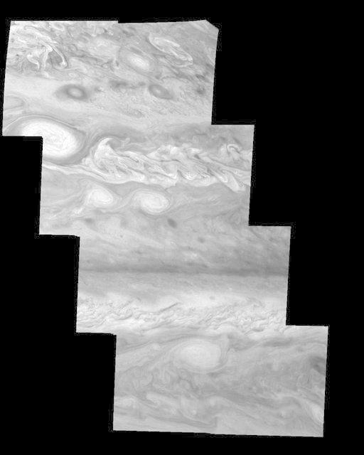 Jupiter Northern Hemisphere in a Methane Band Time Set 2
