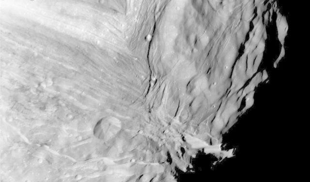 Uranus Innermost Satellite Miranda
