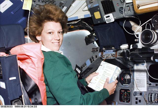 Columbia Commander Eileen Collins