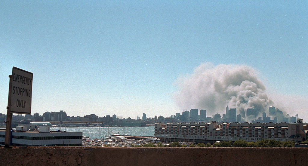 911: New York City Views, 09/11/2001.