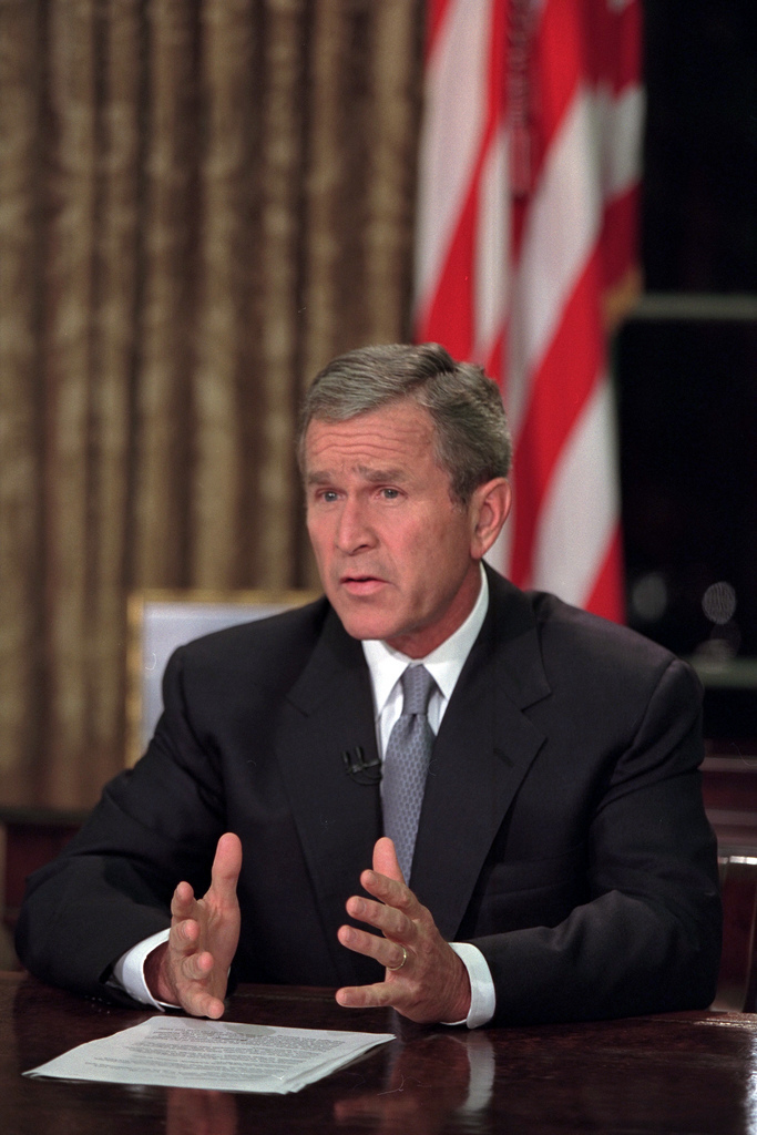 911: President George W. Bush and Address to the Nation, 09/11/2001.