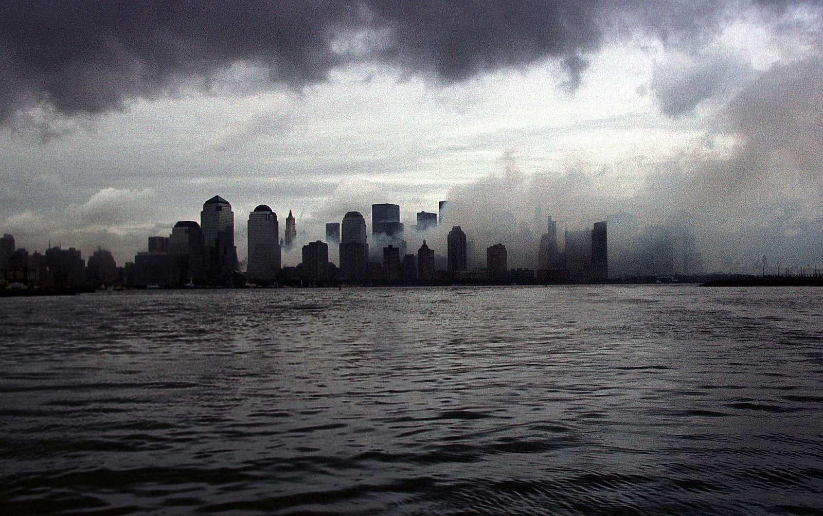 Early morning view of Ground Zero, formerly the World