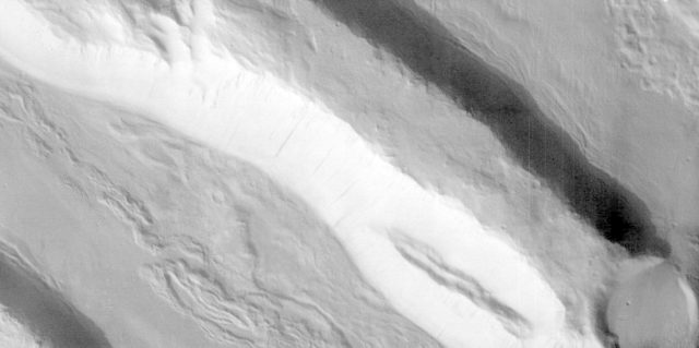 Acheron Fossae in Visible Light