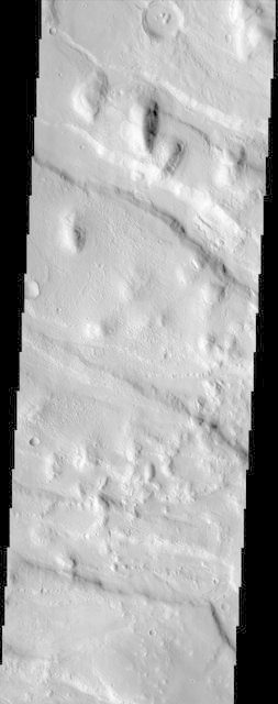 Western Portion of Acheron Fossae