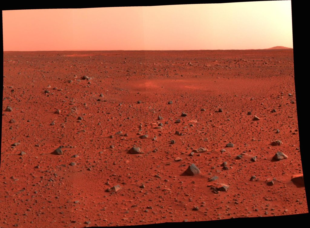 New Real Estate on Mars