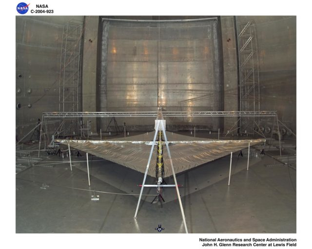 Solar Sail Testing at the Plum Brook Space Power Facility (SPF) GRC-2004-C-00923