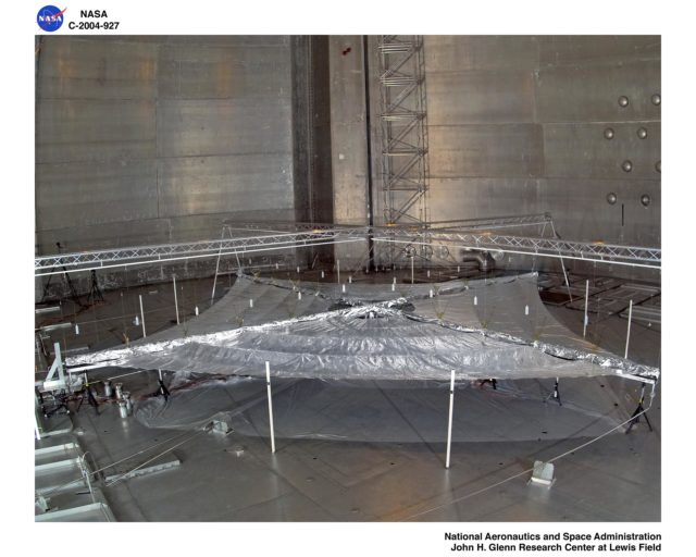 Solar Sail Testing at the Plum Brook Space Power Facility (SPF) GRC-2004-C-00927