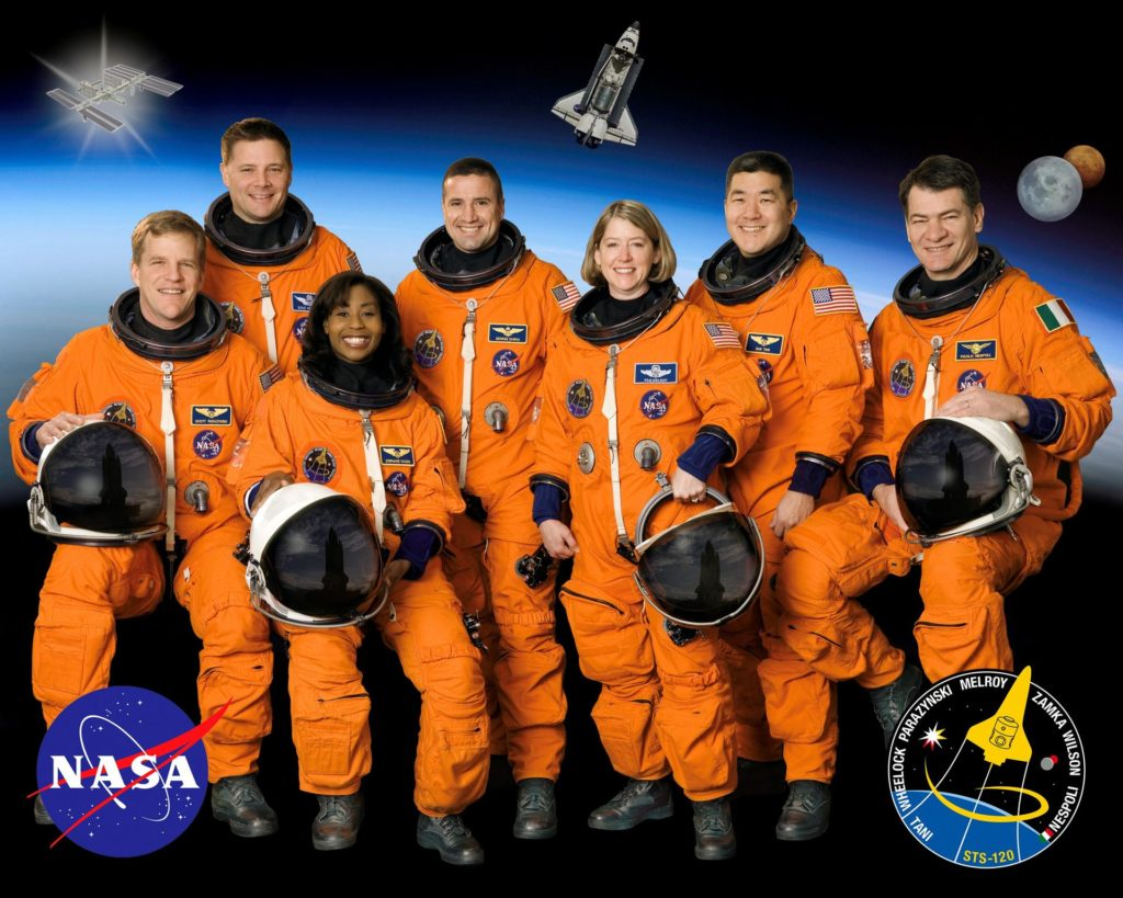 STS-120 crew portrait
