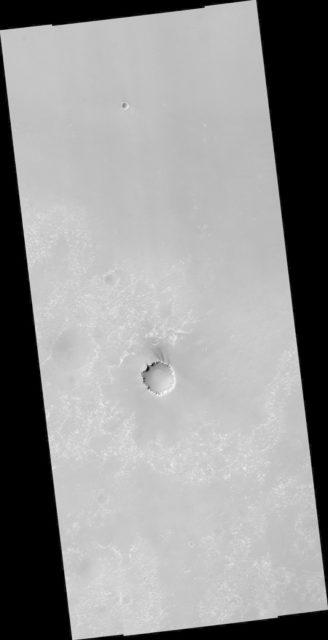 Mars Exploration Rover Landing Site at Meridiani Planum
