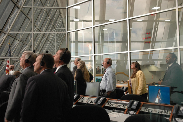 Inside the Launch Control Center
