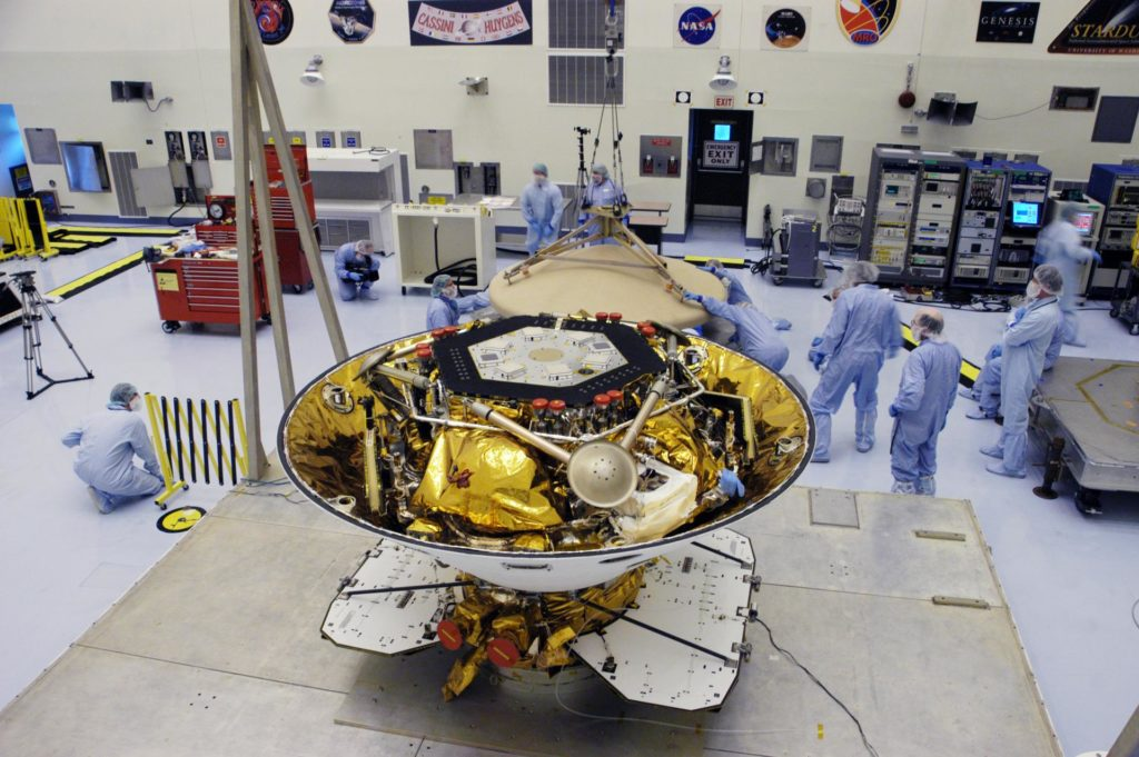Phoenix Mars Lander Spacecraft Processing