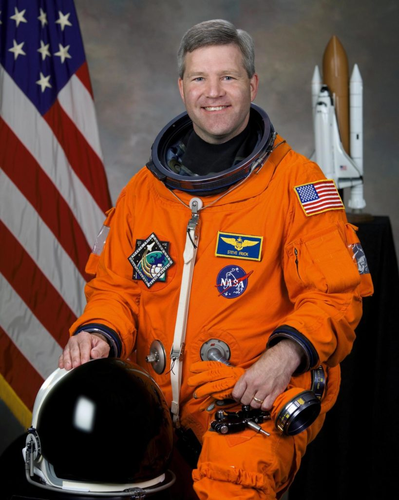 JOHNSON SPACE CENTER, Houston --  JSC2007-E-37486 -- Astronaut Stephen N. Frick, commander KSC-07pd3280