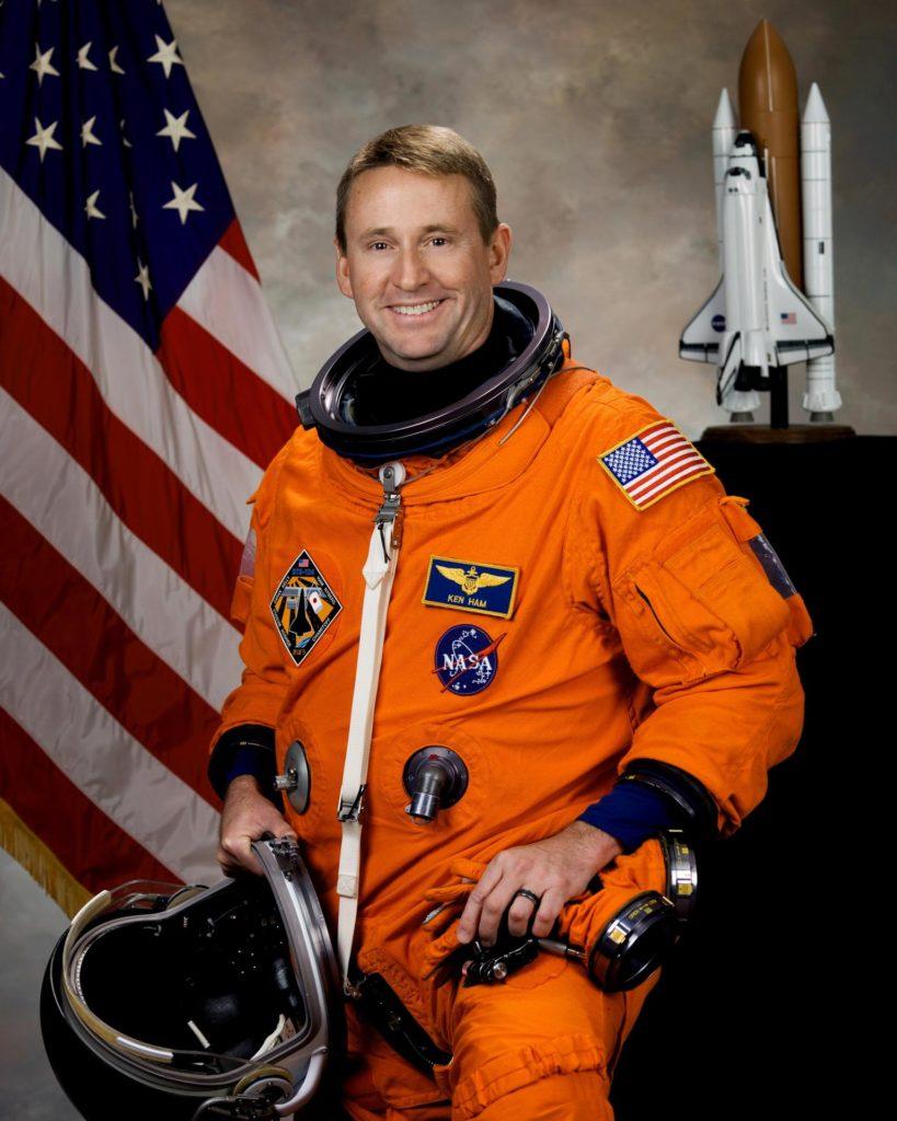 JOHNSON SPACE CENTER, Houston ---  JSC2007-E-093431 --- Astronaut Kenneth T. Ham, commander KSC-08pd0756