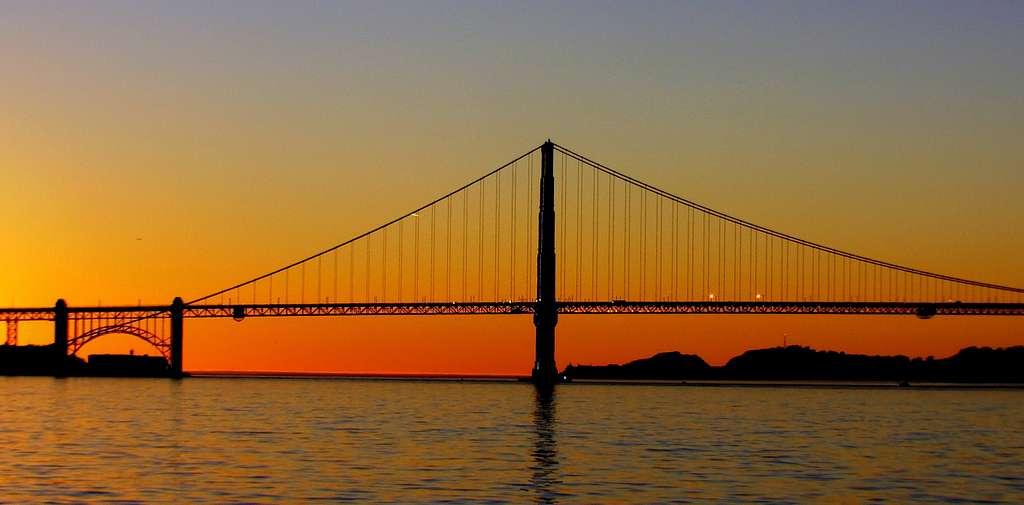 Golden Gate Sunset.