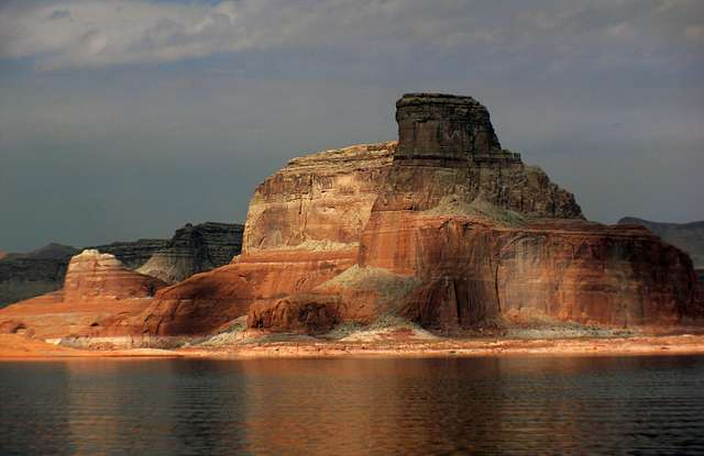 Evening on Lake Powell.