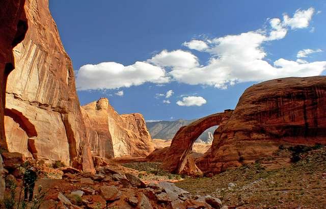 Rainbow  Bridge National  Monument Utah.