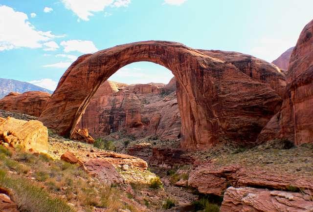 Rainbow Bridge.National Monument