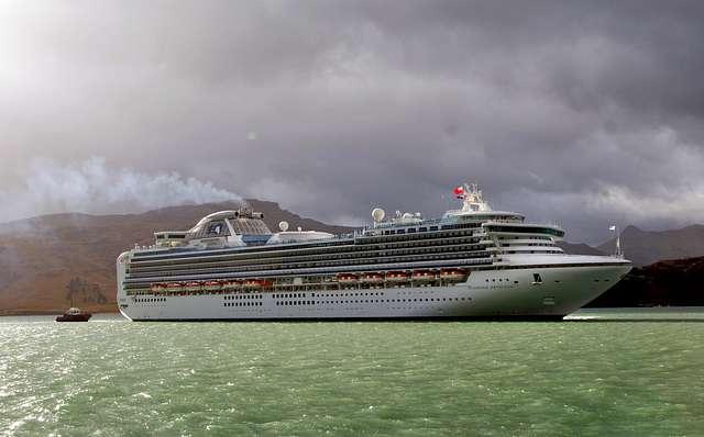 Diamond Princess Port Lyttleton NZ