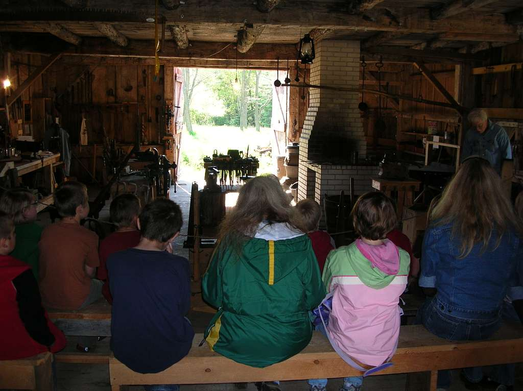 SLBE Glen Haven Days - Blacksmith Shop