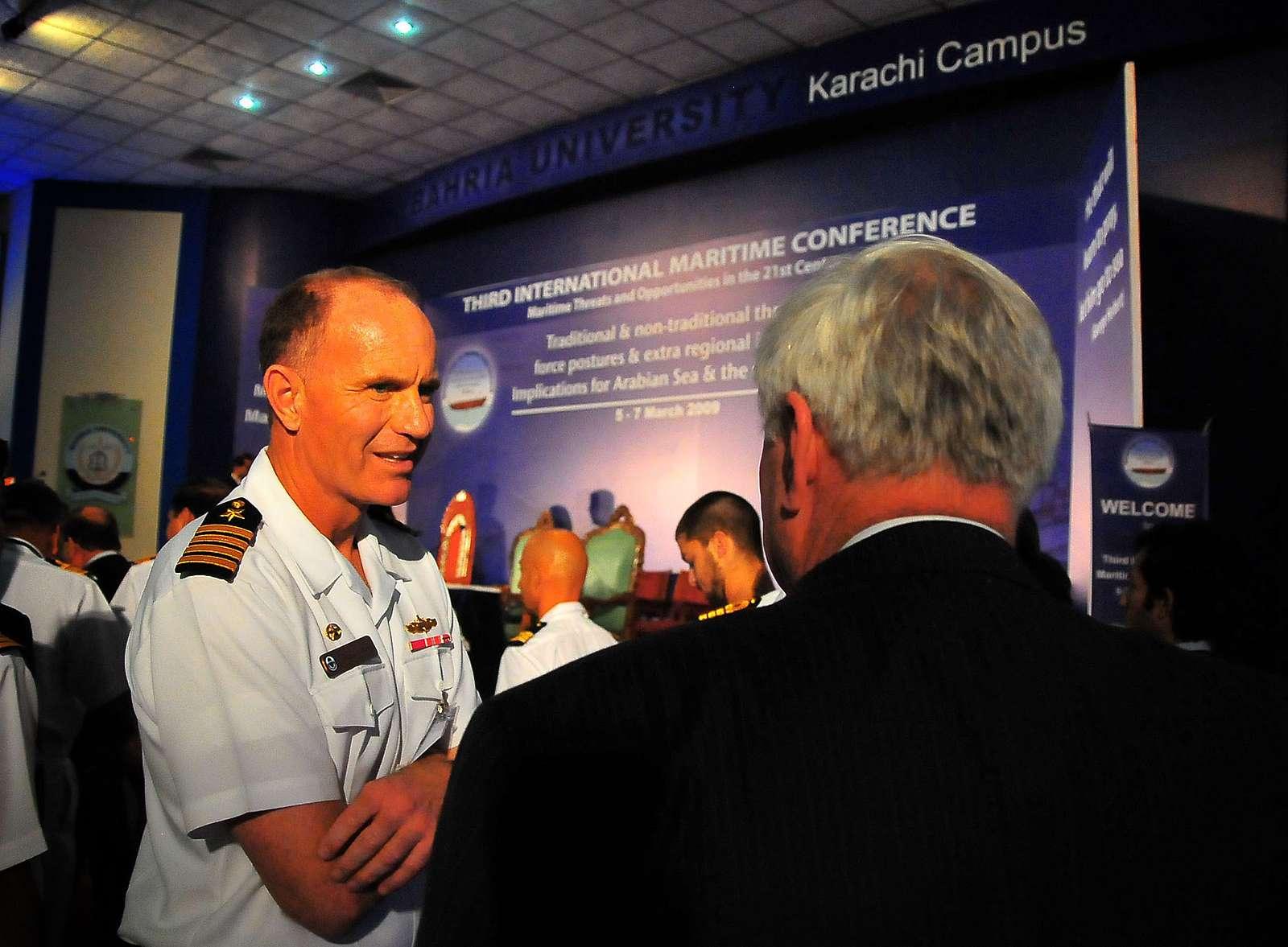 Multinational naval exercise AMAN