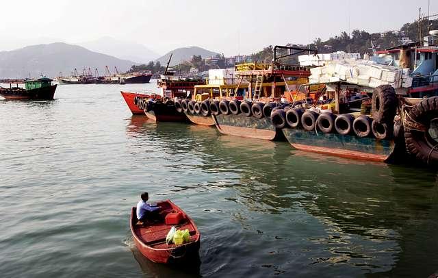 Boatman.Cheung Chau. HK