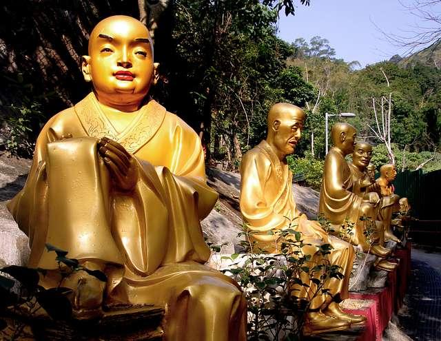 10 000 Buddhas Monastery Sha Tin.