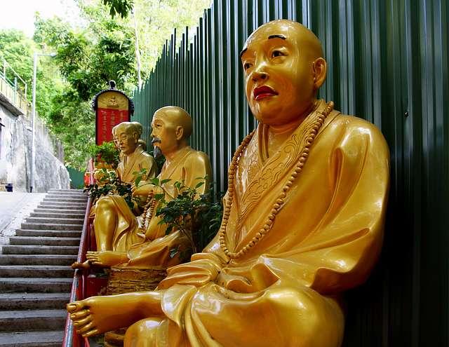 10,000 Buddhas Sha Tin Hong Kong