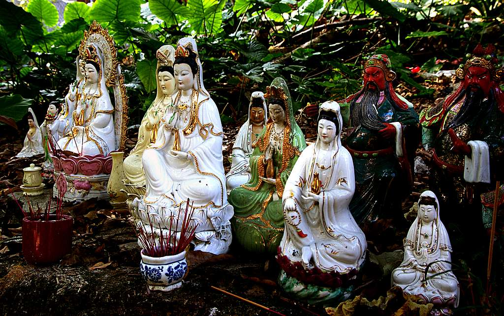 Buddha Goddesses Sha Tin Hong Kong.