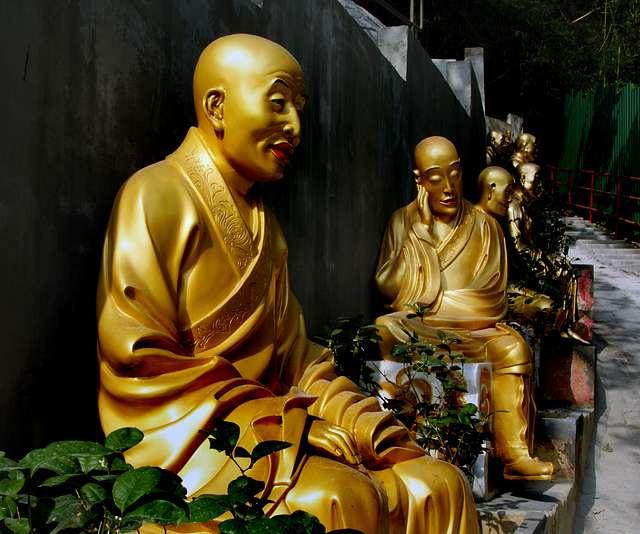 Buddhas Sha Tin HK.