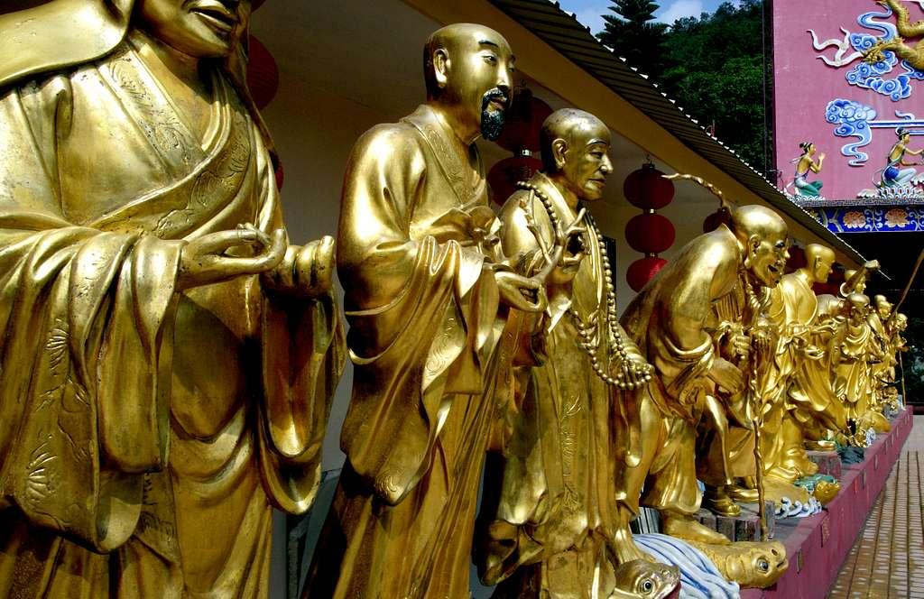 Buddhas Sha Tin Hong Kong.