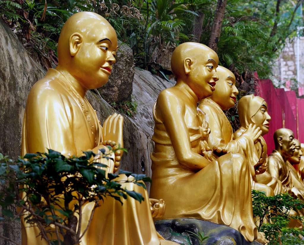 Temple of 10.000 Buddhas HK.
