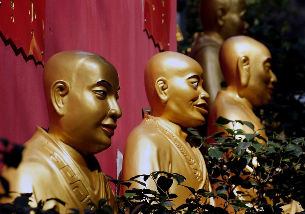 Ten Thousand Buddhas Monastery.HK