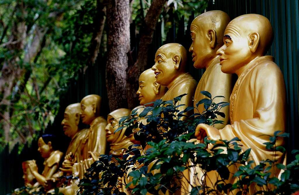 The Monastery of Ten Thousand Buddhas