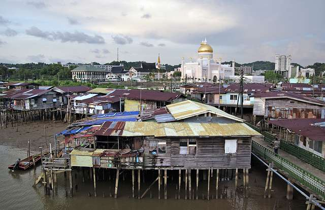 Brunei. Land of contrast.